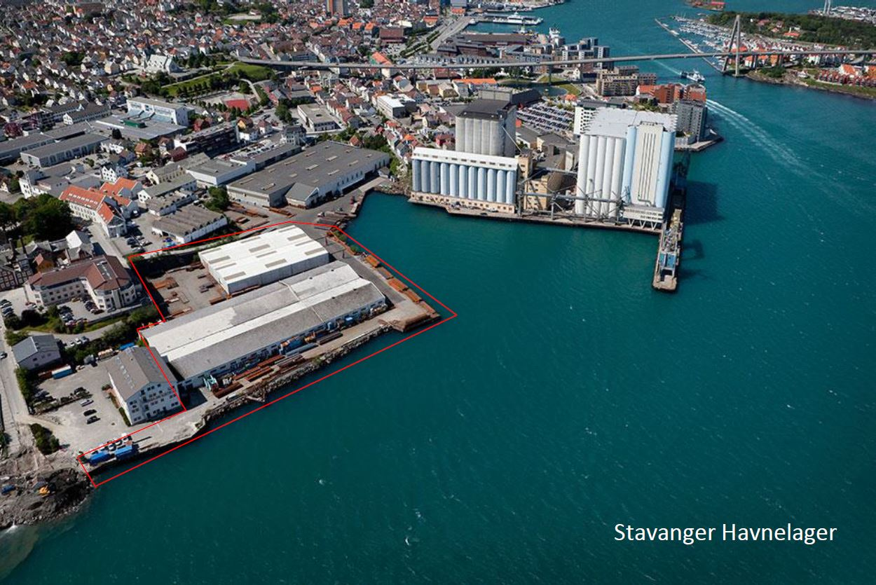 Air photo of Hermes location in Stavanger